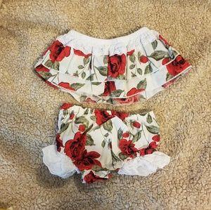 Other - Rose 2pc Toddler Set